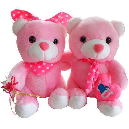 Boneka Couple Pink E0403