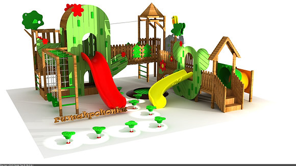Outdoor Playground Custom – CIKEAS