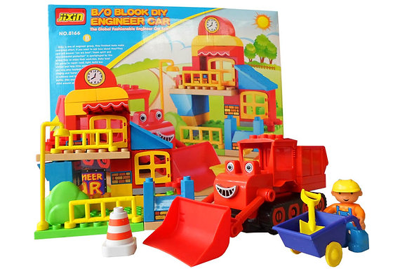Bob The Builder Crane Merah 08BLK013