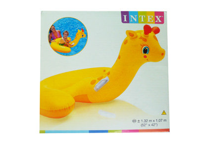 Baby Giraffe Inflatable Ride On 05WTP04