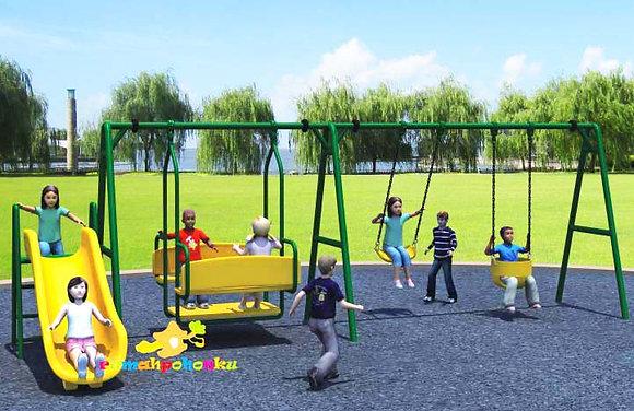 Multiple Swing Set Slide 2