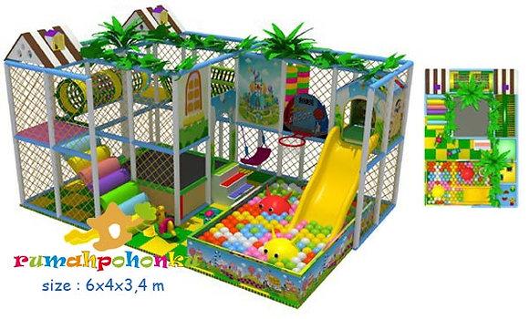 Happy adventure 2 indoor playground
