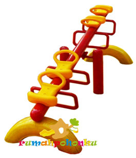 LLDPE Double Seater Seesaw