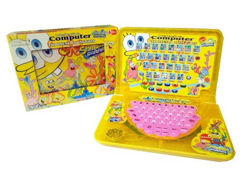 Interactive Laptop 2 Bahasa Spongebob 01LRN02
