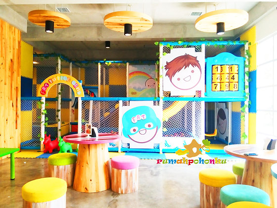 Indoor Playground Fat Bubble