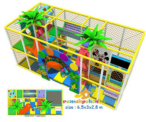 Happy zone 3 indoor playground