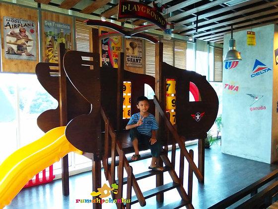 Playground Indoor Kayu Restoran Wiki Wiki Wok