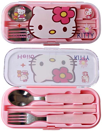 sendok garpu hello kitty 09ACS171
