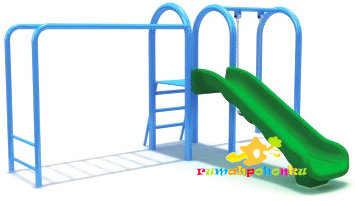 Swing Set Slide Combo