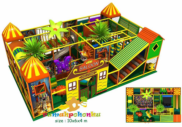 Wild west indoor playground