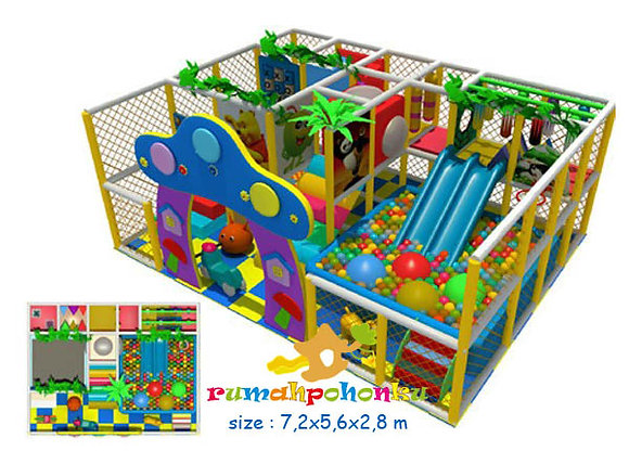Double party 2 indoor playground
