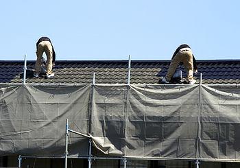 コウワ美工の屋根塗装