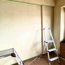 漆喰壁面工事
