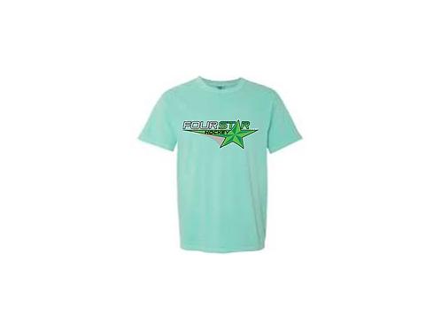 Four Star Hockey Tee - Mint