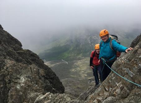 Pinnacle Ridge, Sgurr nan Gillean, Skye