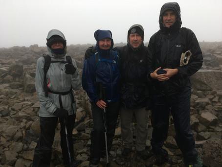 Ben Nevis, group walk