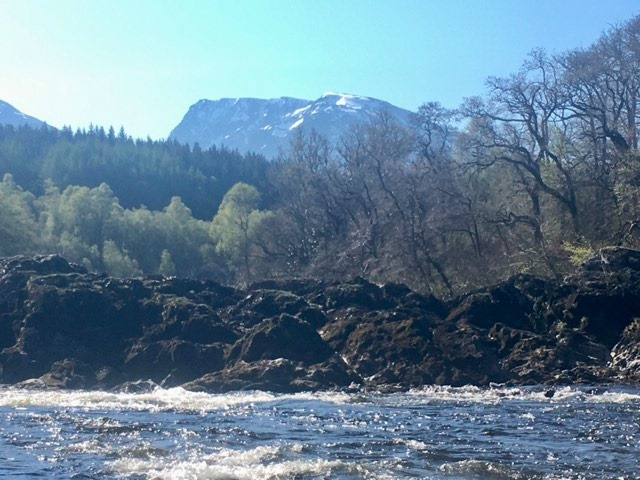 Ben Nevis and River Lochy