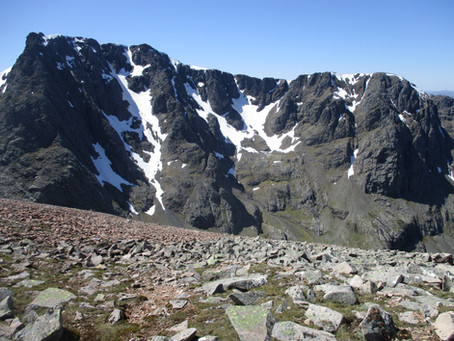 Summer series of interest - More challenging routes on the north face of Ben Nevis.