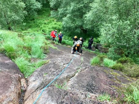 Glen Nevis climbing