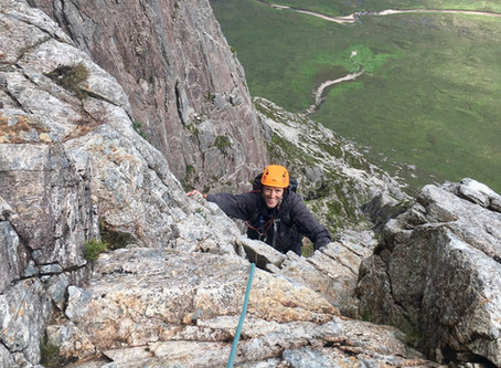 Curved Ridge, Glencoe