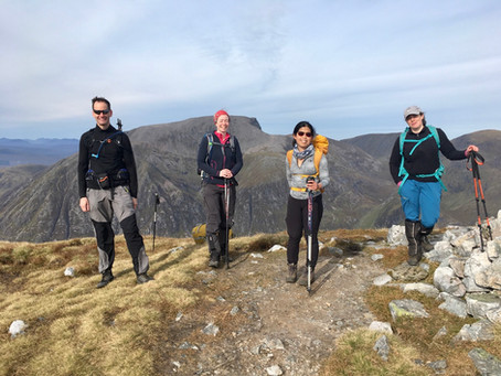 Mamores Munros weekend, Fort William