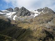 View of Scottish mountains
