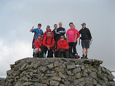 Ben Nevis for charity