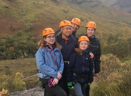 Glen Nevis climbing adventure