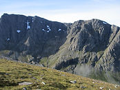 View of Ben Nevis north face