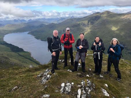 Grey Corries and Loch Treig munros