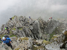Guided walk up Ledge Route, Ben Nevis