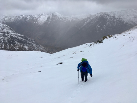 Glencoe winter day