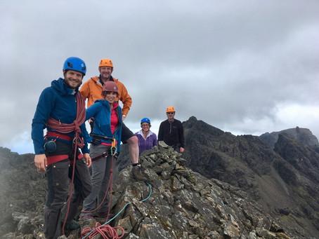 Skye Munros course, day 1