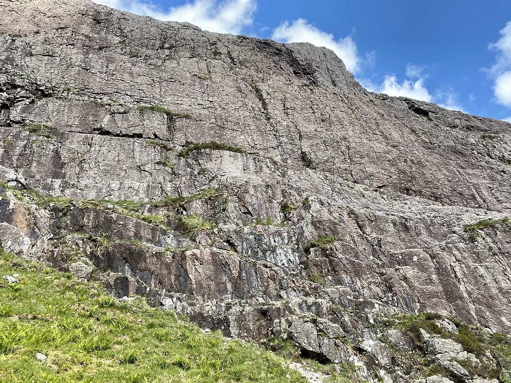 Glencoe climbing, The Bowstring
