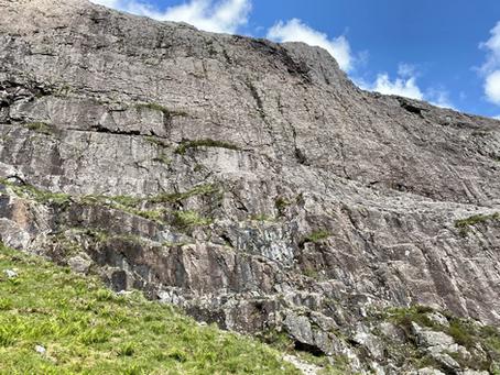 Glencoe rock climbing