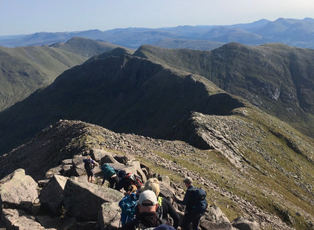 Ben Nevis, Carn Mor Dearg, Inaccessible Pinnacle and Ben Cruachan