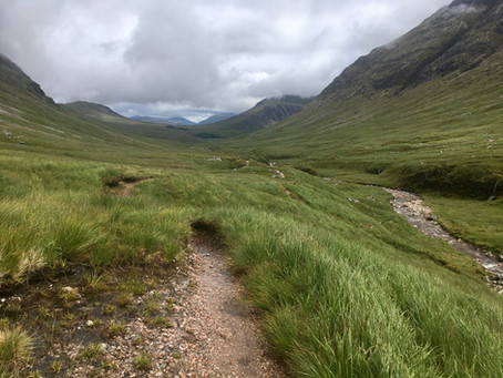 Glencoe landscape walk