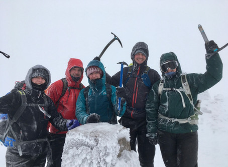 Winter Skills and Ben Nevis ascent