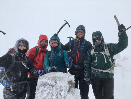 Winter Skills and Ben Nevis ascent