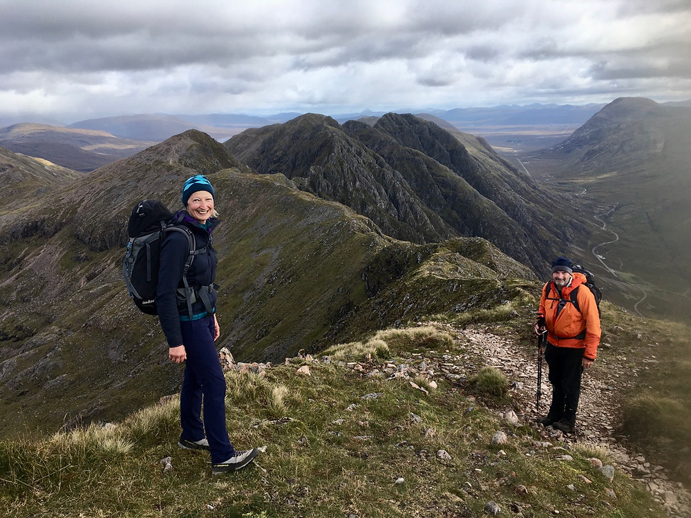 Guided Aonach Eagach in Glencoe