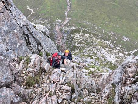 North Buttress, Buachaille Etive Mor, Glencoe