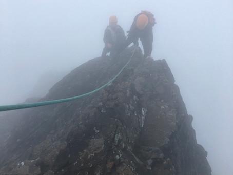 Inaccessible Pinnacle, Skye