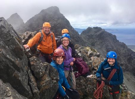 Skye Munro Course, day 2