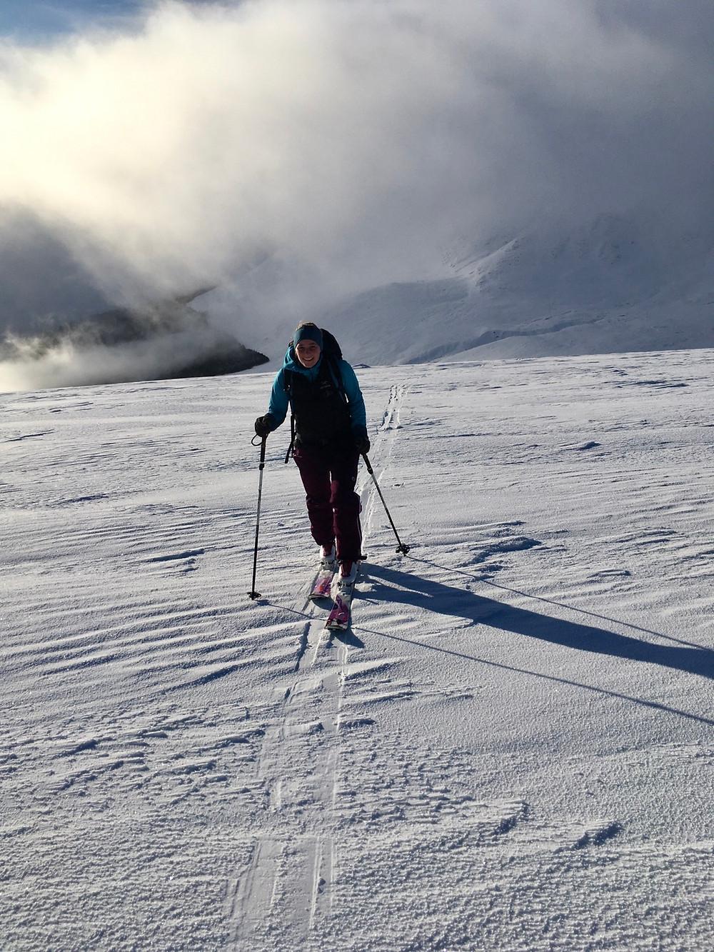 Creag Meagaidh in winter