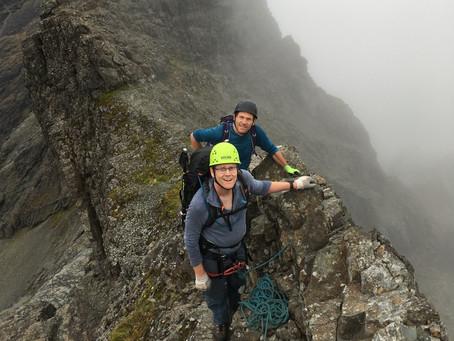 Skye ridge traverse