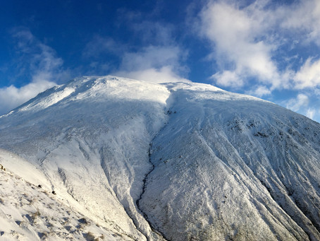 Ben Nevis Mountain Path