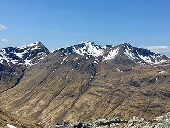Guided walks on Munros in Glen Coe