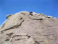 Climber in Glen Nevis