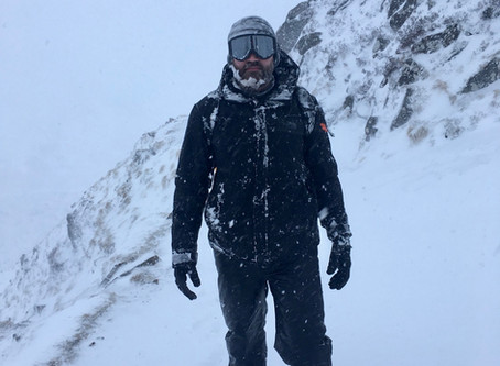 Ben Nevis in full winter condition