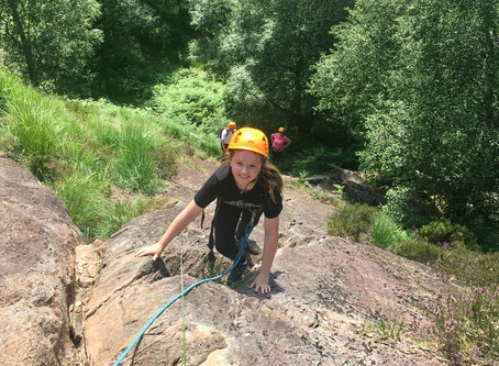 Intro to climbing, Glen Nevis